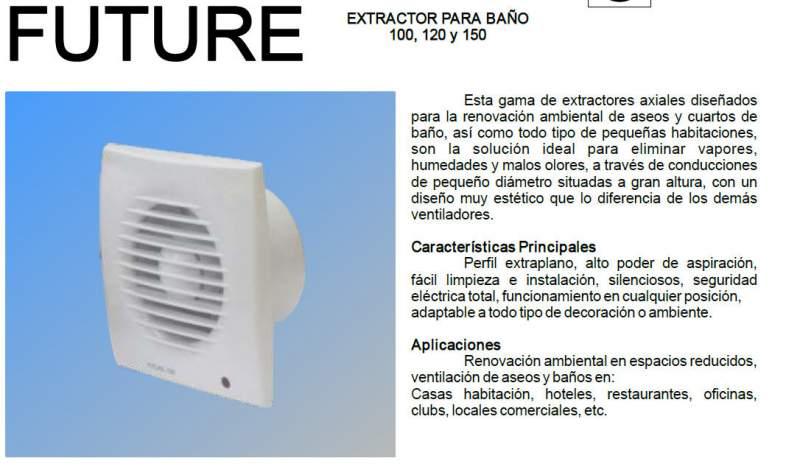 Extractor Baño S&p   Extractores Para Banos Comprar En Lima