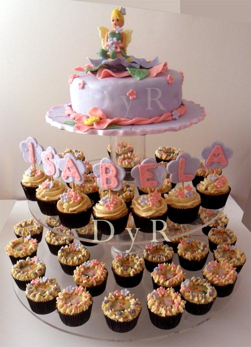 Torta y 50 cupcakes Tinkerbell — Comprar Torta y 50 cupcakes ...
