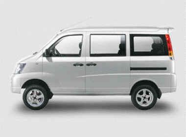 Vehículo Changhe 8 asientos Freedom Mini Van de pasajeros
