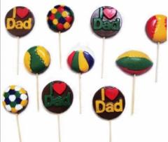 Paletas coloreadas, rellenas y con stickers