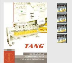 Maquina Bordadora Marca Tang