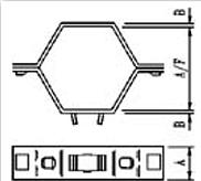 Rejilla Hexagonal Tipo GX-2