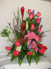 Composititons of fresh flowers