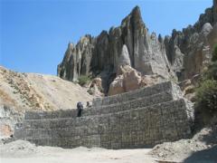 Geomallas para reforzar laderas