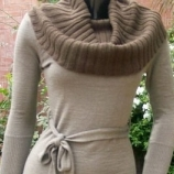 Vestido de lana