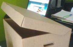 Caja Archivadora de cartón
