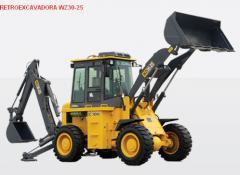 Retroexcavadora Modelo WZ30-25