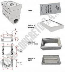 Materiales de concreto - Caja de registro de