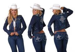 Casacas Jeans para Mujer