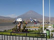 Vias aereas peruanas
