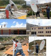 Equipment for satellite broadband