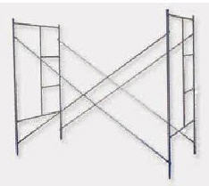 Wedge scaffolding