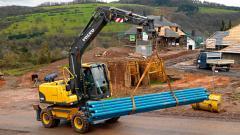 Excavadora de ruedas EW140C