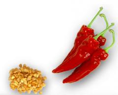 Paprika red flakes