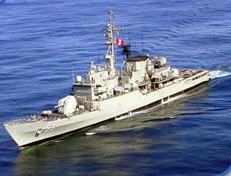 Fragata misilera BAP Montero