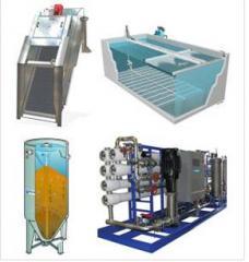 Equipos y sistemas para el tratamiento de fluidos.