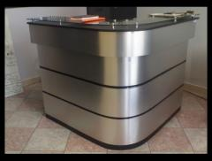 Counter con metal