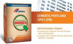 Cemento Porland de Uso Estructural Tipo I - PM