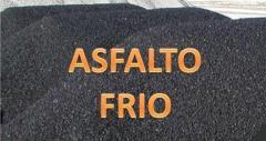 Carpeta asfáltica preparada en frio