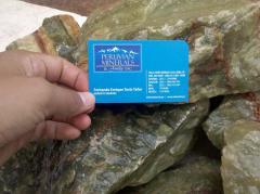 Aragonita Verde Peruvian Minerals