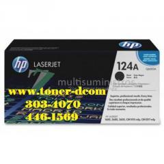 TONER HP Q6000A (124A) L.J. 2600 BLACK