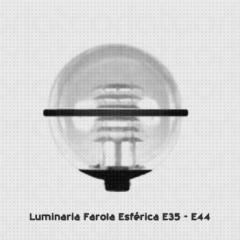 Farola Esferica E35 E40 Philips - Lima Peru