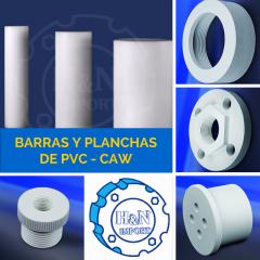 Barras y Planchas de PVC