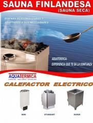 Sauna seca: generadores de calor