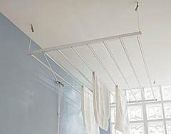 Perchas para techo de lavandería