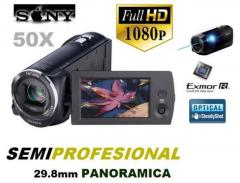 Handycam  Sony Hdr Cx290 Full Hd Panoramica Remate