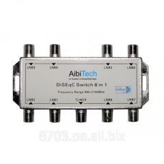 Diseqc 8x1 Satellite Dish Switch For Lnb