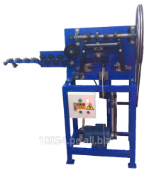 Maquina formador de piezas de alambre