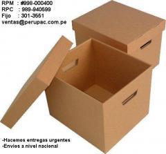 Fabricación de productos de Cartón,Cajas, Cartón Corrugado, Esquineros, Planchas de Cartón, Cajas Telescópicas.