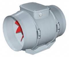 Ventilador, extractor, inyector
