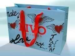 Bolsas de papel  plastificadas