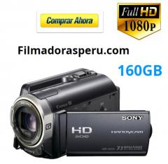 Filmadora Sony Xr350 Full Hd Tactil 160gb fotos flash entrada zapata