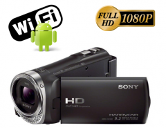 Filmadora Sony Cx330 Full Hd 60x Zoom Lcd 2.7 Wi-fi