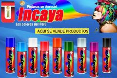 Pinturas En Spray Incaya
