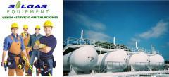 Tanque  Para Gas, Uso Comercial E Industrial
