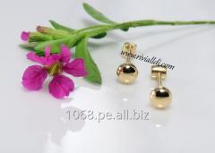 Aretes de oro Modelo