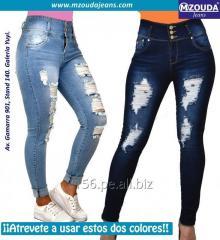 Jeans Dama Cintura