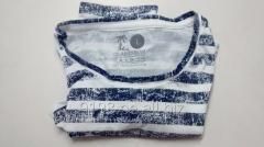 T-shirt with stripes 100% pima cotton Peruvian