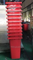 Tachos plasticos para residuos