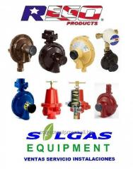 Reguladores para gas