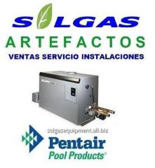 Calentador de piscina pentair power max
