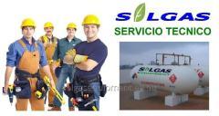 Servicio tecnico especializado gas