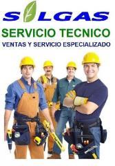 Solgas servicio tecnico
