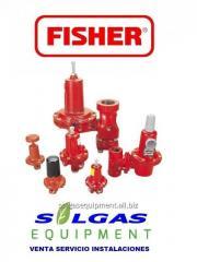 Reguladores para gas alta  presion