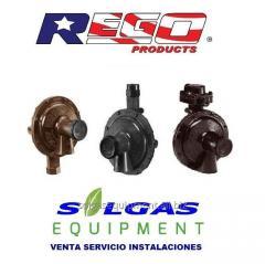 Reguladores para gas baja presion