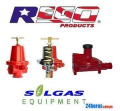 Reguladores para gas alta  presion rego U.S.A